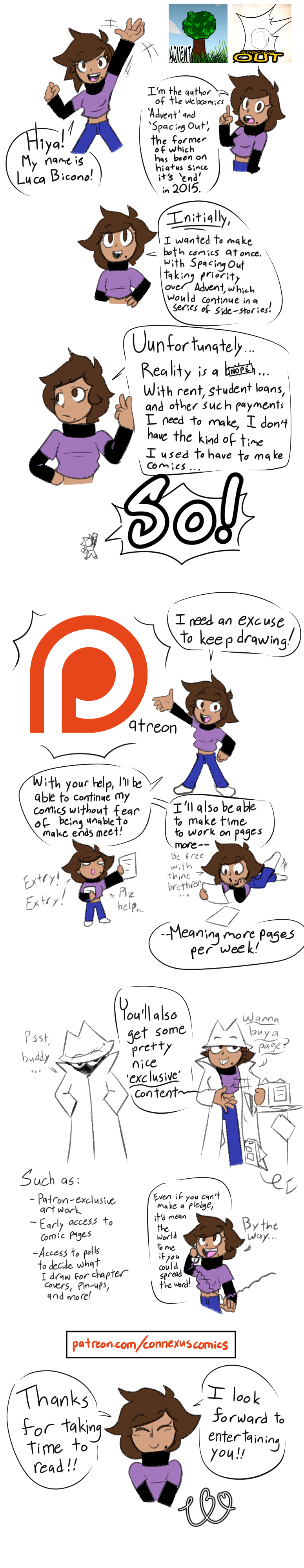 Announcement: Spacing Out Is On Patreon!
